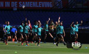FeyenoordinBeeld eerste openbare training 05.0812