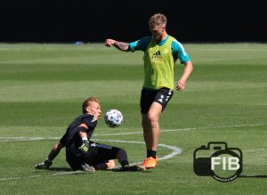 FeyenoordinBeeld eerste openbare training 05.0842